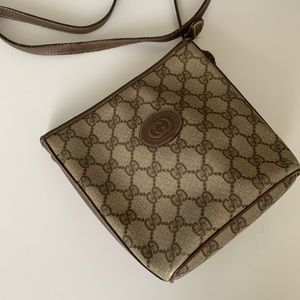Authentic Vintage Gucci Monogram Crossbody